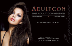 ADULTCON LOS ANGELES 1-DAY TICKET FOR MAY 11. 12 or 13, 2018