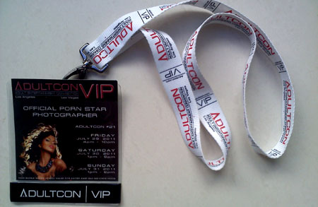 ADULTCON VIP GOLD ADMISSION TICKET FOR MAY 11. 12 and 13, 2018